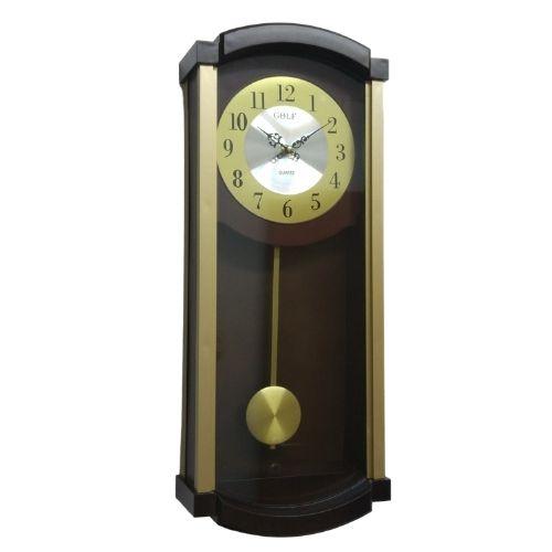 שעון מטוטלת קלאסי וינטג שעוני קיר גולף שעונים