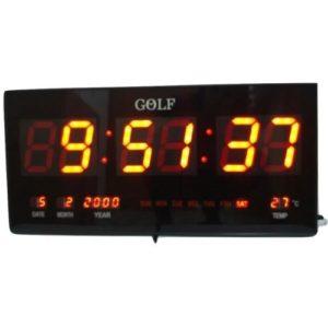 """4622 שעון קיר חשמלי דיגטלי - דגם 46X22 ס""""מ"""