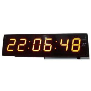 """6818 שעון קיר חשמלי דיגטלי - דגם 68X18 ס""""מ"""