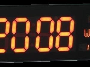 שעון קיר חשמלי 3303