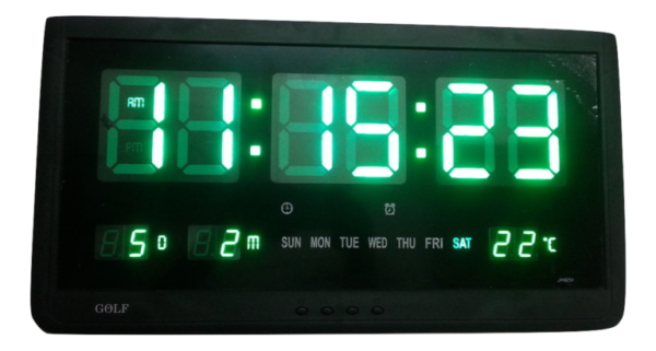 """48X25 שעון קיר חשמלי דיגטלי -  ס""""מ"""