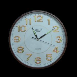 שעון קיר זוהר בחושך  8823