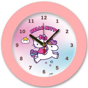 98105-HK unicorn1 שעון קיר מחוגים לילדים חד קרן