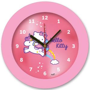 98105-HK unicorn3 שעון קיר מחוגים לילדים חד קרן