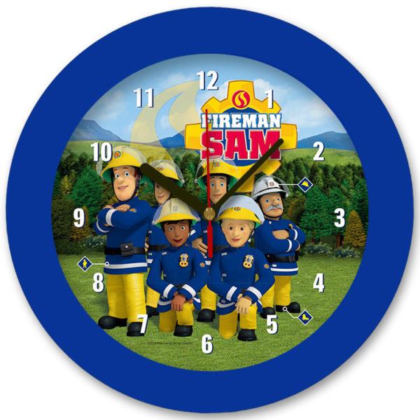 98105-fs2 שעון קיר מחוגים לילדים סמי הכבאי