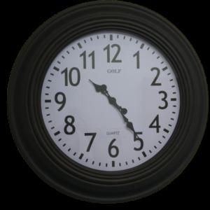 L1310 שעון קיר ענק ממש לאולמות אירועים ובתי כנסיות אנלוגי קוטר 75 סנטימטר