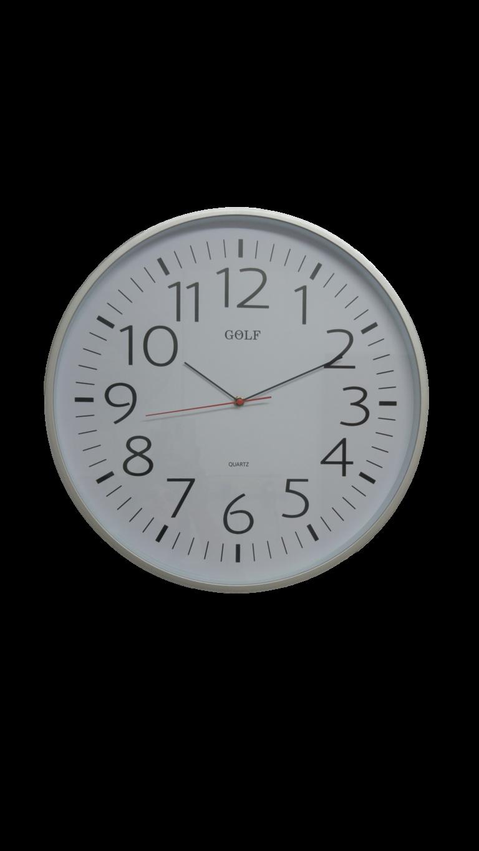 L275-1 שעון קיר ענק אנלוגי לבתי כנסת ואולמות אירועים קוטר 45.5 סנטימטר