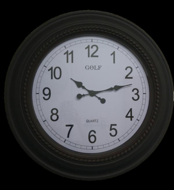 L716 שעון קיר ענק אנלוגי מעוטר קוטר 75 סנטימטר
