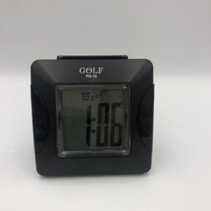 שעון מעורר קטן מבית גולף, עם 'נודניק' ואור 305SM-BL