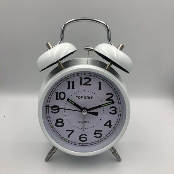 817P שעון מעורר פעמונים ורוד - דגם מובחר TOP GOLF