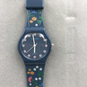 שעון יד לילד מבית גולף - דגם GF4550 פרחוני לילדות