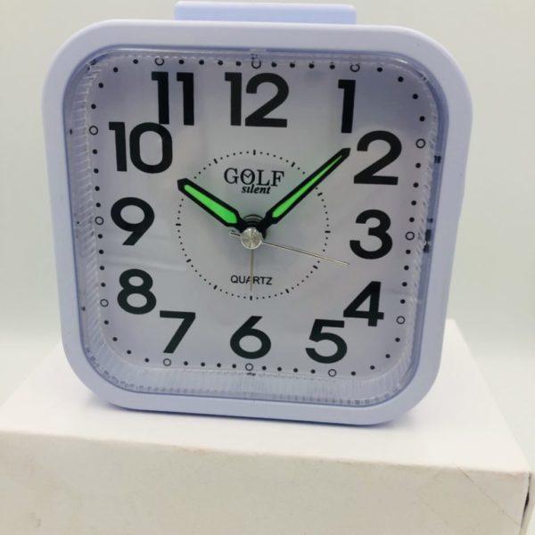 שעון מעורר עם צלצול לשבת- דקה אחת מצלצל ומפסיק , מנגנון שקטGOLF1010WH-SHB