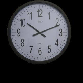 שעון קיר ענק חום לבית כנסת ואולם אירועים גולף L305-2