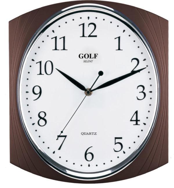 שעון קיר מדגם גולף דקורטיבי PW098-1700-brwon