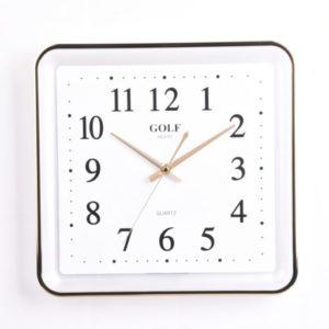 שעון קיר מדגם גולף PW155-1700 Gold