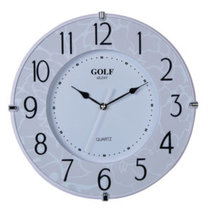 שעון קיר מדגם גולף PW321-1700-2