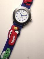 שעון יד לבנים מכוניות גולף כחול