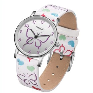 שעוני יד לילדים שעונים לבנים ושעונים לבנות צבעוניים ובגדלים מתאימים