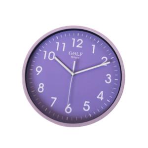 CLKSPL05PR שעון קיר קלאסי מבית גולף - צבע ירוק נעים לקיר החדר