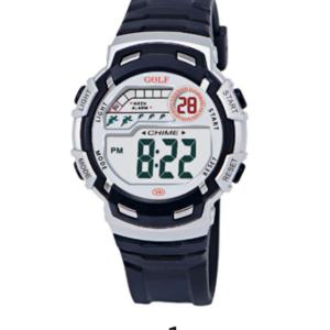 8582033BL שעון יד שחור בסגנון קלאסי לילדים מדגם גולף