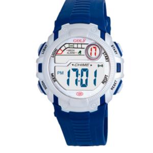 8562033BL שעון יד כחול 'כמו של גדולים' לילדים, מדגם גולף