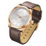 שעון יד בולט ביופיו מקולקציית סתיו 2020 של מותג VECTOR. דגם VH8-101582 white-1 Наручные часы, которые выделяются своей красотой из коллекции бренда VECTOR осенью 2020 года