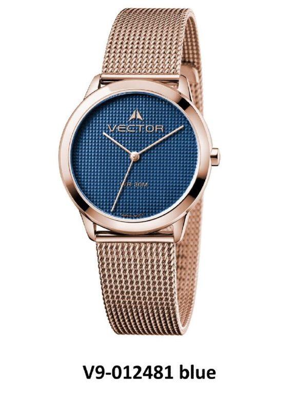 שעון יד מבית VECTOR, קולקציית 'כחולי השמיים' עיצוב שילוב מקסים של הכחול והכסוף בכל פרטי שעון היד היוקרי. דגם שעון יד מבית VECTOR, קולקציית 'כחולי השמיים'. השעון משלב את שלושת האלמנטים החזקים של כסף, זהב וכחול עמוק לחזות של עוצמה. דגם V9-012481 blue Высококлассные элегантные классические часы