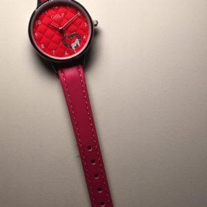 שעון יד לבנות לב רגיש ורוד | אדום 978 GOLF