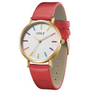 שעון יד לאשה ונערה GOLF – קלאסי מיוחד – קולקציית קיץ 2021 - G6-2– דגם