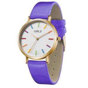 שעון יד לאשה ונערה GOLF – קלאסי מיוחד – קולקציית קיץ 2021 - G6-3– דגם