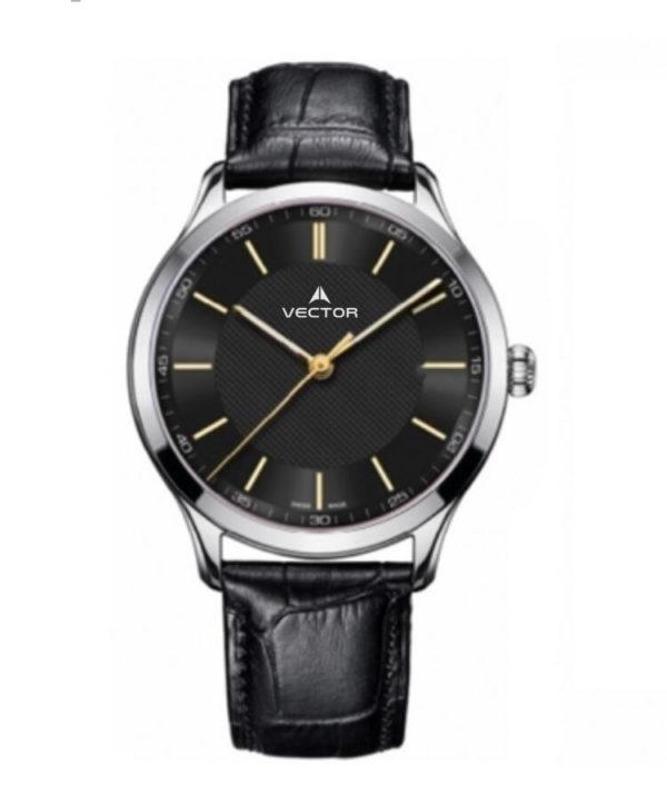 שעון יד VECTOR – קלאסי יוקרתי – קולקציית קיץ 2021 - V8-109513 black – דגם