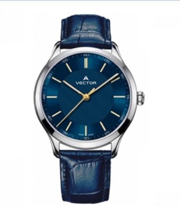 שעון יד VECTOR – קלאסי יוקרתי – קולקציית קיץ 2021 - V8-109513 blue – דגם