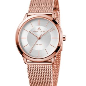 שעון יד לאשה ונערה VECTOR – קלאסי מיוחד – קולקציית קיץ 2021 - V9-10 – דגם
