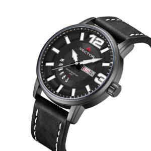 שעון יד VECTOR – קלאסי יוקרתי – קולקציית קיץ 2021 - VC8-105513 black – דגם