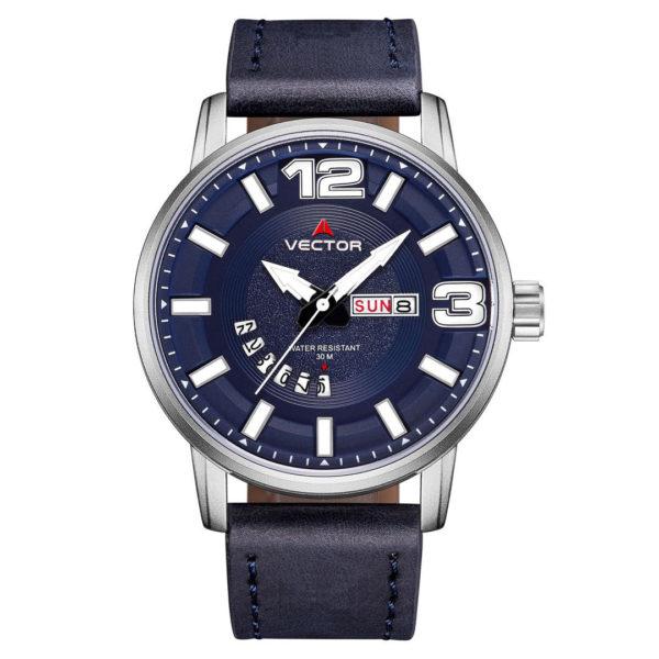 שעון יד VECTOR – קלאסי יוקרתי – קולקציית קיץ 2021 - VC8-105513 blue – דגם