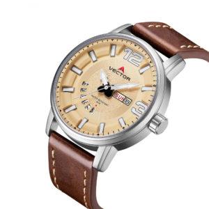 שעון יד VECTOR – קלאסי יוקרתי – קולקציית קיץ 2021 - VC8-105513 yellow – דגם