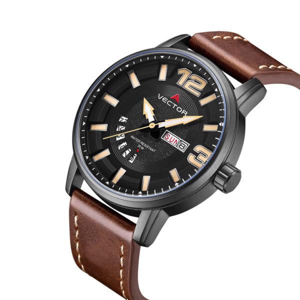 שעון יד VECTOR – קלאסי יוקרתי – קולקציית קיץ 2021 - VC8-1055138 black – דגם