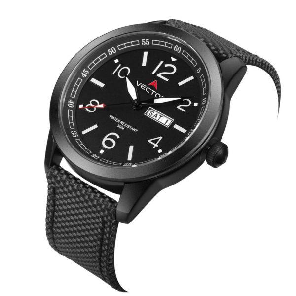 שעון יד VECTOR – קלאסי יוקרתי – קולקציית קיץ 2021 - VC8-106512 black – דגם