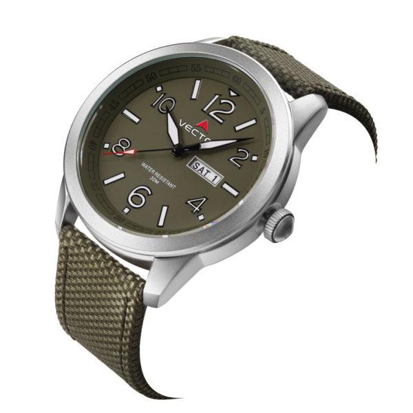 שעון יד VECTOR – קלאסי יוקרתי – קולקציית קיץ 2021 - VC8-106512 green – דגם