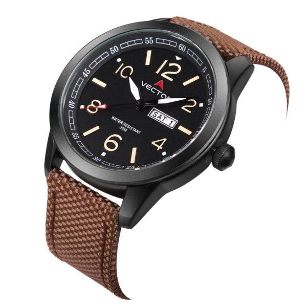 שעון יד VECTOR – קלאסי יוקרתי – קולקציית קיץ 2021 - VC8-1065128 black – דגם