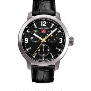 שעון יד VECTOR – קלאסי יוקרתי – קולקציית קיץ 2021 - VH8-019513 black – דגם