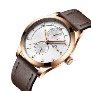 שעון יד VECTOR – קלאסי יוקרתי – קולקציית קיץ 2021 - VH8-101582 white – דגם