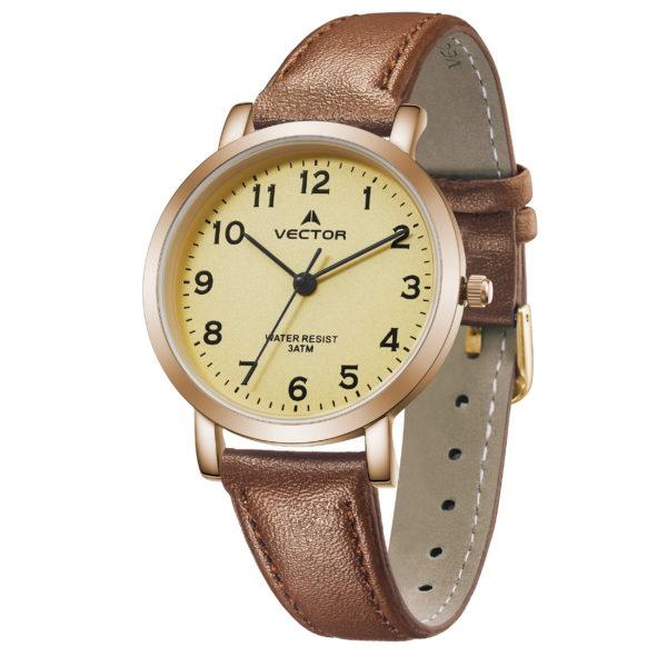 שעון יד רצועות עור קלאסי | קיץ 2021 | V11-1