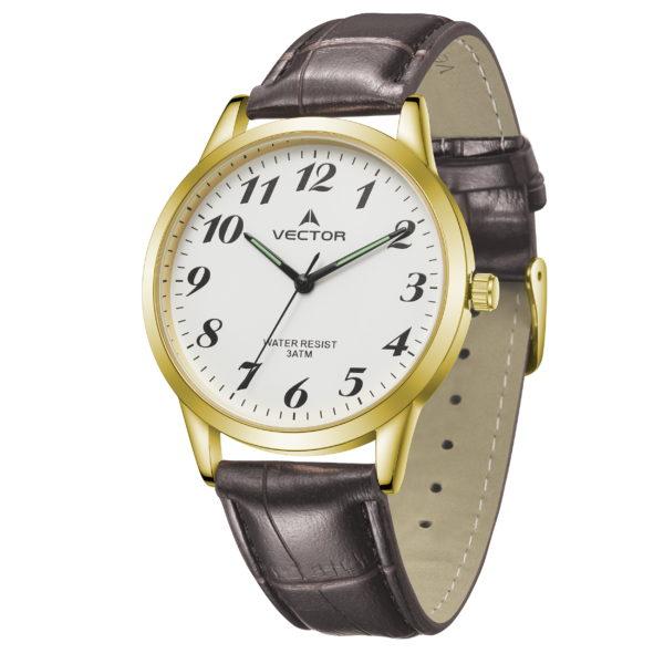 שעון יד רצועות עור קלאסיות מהודרות   קיץ 2021   V12-1