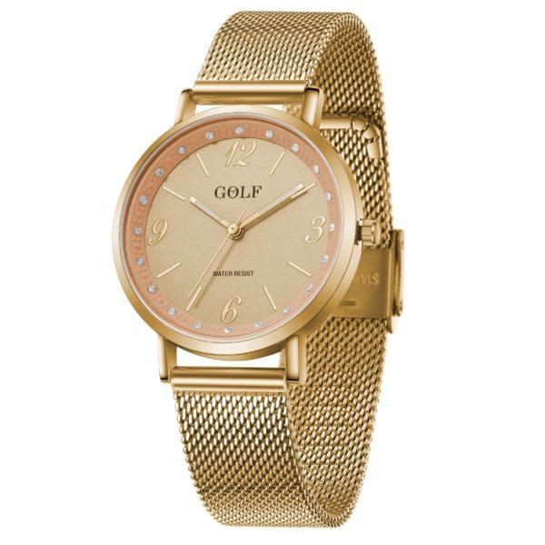 שעון יד בית GOLF | קולקציית קיץ 2021 | שעון יד בדגם קלאסי ויוקרתי G2-2
