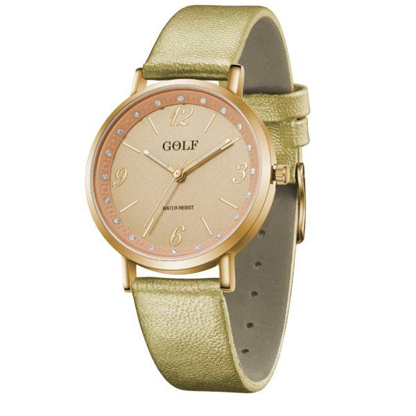 שעון יד בית GOLF   קולקציית קיץ 2021   שעון יד בדגם קלאסי ויוקרתי G2-4